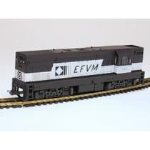 Frateschi-locomotiva G.12 - Cvrd - Marrom