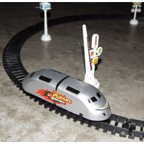 Trem Bala Toy Train & Pista 5 Metros (não Ferrorama)