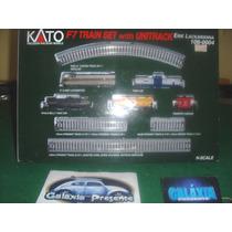 Kato Escala N - Conjunto Composição Locomotiva F7 + 5 Vagões