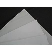 5 Chapas De Ps (poliestireno) Branca