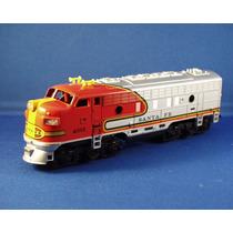 Ho = Locomotiva F7 = Santa Fe #4015 = Tyco (usada)