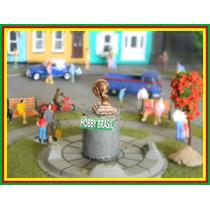 E04- Estátua De Praça Jardim P/ Maquetes Ho 1:87, 1:76, 1:50