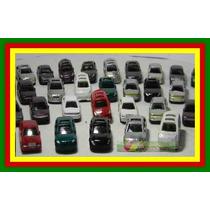 Lote 10 Miniaturas Automóveis Esc 1:200 Figuras