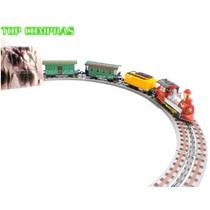 Ferrorama Trem Elétrico Máquina Locomotiva Vagões 3m Trilhos