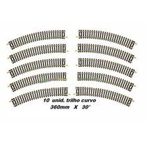 10 Trilhos Curvo 360mm X 30° Frateschi 4188