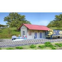 Estação Campestre Ho 1:87 Frateschi 1526 P/ Ferrovia, Trem