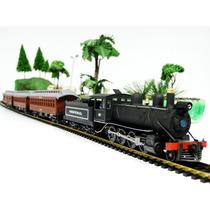 6510 - Trem De Passageiro A Vapor Efcb