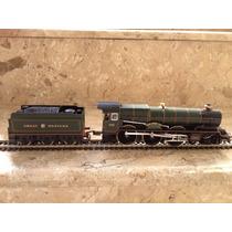Locomotiva Vaporeira Gwr King Henry Viii C/vagão-hornby (uk)