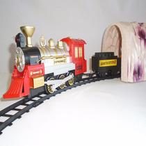 Ferrorama Locomotiva Expresso Ii C/túnel Trilhos 49pc 800-1