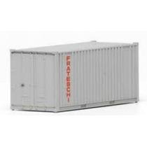 Container Cinza 20 Pés Ho 1:87 Frateschi 20753