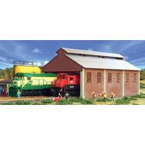 Garagem Depósito De Locomotivas Ho 1:87 Frateschi 1517