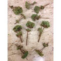 Kit Com 10 Árvores P/ Maquete Esc Ho Esc 1/87