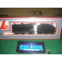 Lima Escala Ho - Locomotiva Vaporeira Lms Class 4f Nova