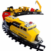 Trem Motorizado Caterpillar - Construction Express Train Dtc