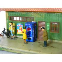 Maquina De Refrigerante Pepsi Cola Scala Ho 1/87 Hbm Maquete