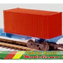 Container Bordo 20 Pés Ho 1:87 Frateschi 20752