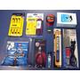 Kit Eletrônica E Solda 9 Itens Multímetro 830b Sugador Lupa