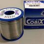 Solda Em Fio Cobix, Carretel Azul 500g, 1.0mm 60x40