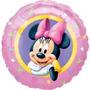 Balão Metalizado Minnie Tam. 4p 10cm - Kit Com 10 Unidades