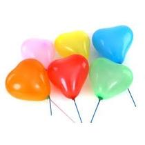 Balão Bexigas Coração Coloridos Nº6 Com 50un. 13,90 Reais.