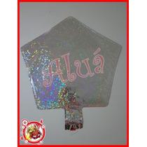 50 Balão Metalizado Estrela(prata)+1 Lança Prata +50 Varetas