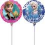 Balão Metalizado Frozen 9p 22,5cm Kit Com 2 Unidades Festa