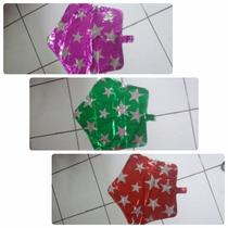 Kit C/ 10 Balão Metalizado Estrela R$ 21,99