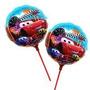 Kit C/ 10 Unid 21cm Balão Metalizado Carros Mcqueen