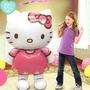 Balão Hello Kitty Gigante 116cm - Inflável - Pronta Entrega