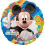 Balão Metalizado Mickey Tam. 9p 22,5cm Kit Com 2 Unidades