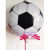 Balão Metalizado Bola De Futebol - 45cm - Pronta Entrega