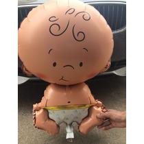 Balão Metalizado Em Formato De Bebe, Ideal Para Chá De Berço