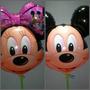 Balão Metalizado Mickey E Minnie Grande C/ 12 Unidades