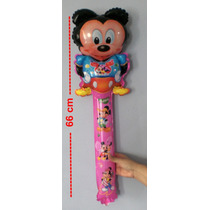 Balão Metaliz Mickey Minnie Ben10 E Outros 10und