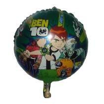 Balão Metalizado Do Ben 10 Para Festas E Aniversários.