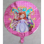 Balão Princesa Sofia Pronta Entrega - Pacote Com 10 Unidades