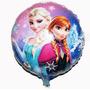 Balão Metalizado Gás Hélio Frozen 18 Pol - 20 Unid.