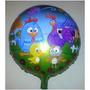 5 Unid. Balão Metalizado Galinha Pintadinha