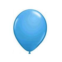 Balão Art-latex N7 Bexiga Para Festa Azul Celeste Com 50