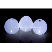 Balão Bexiga Com Led - Led Balao - Led Bexiga - Kit 5 Balões
