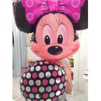 Balao Cabeça Minnie Gigante Festa,aniversario,infantil
