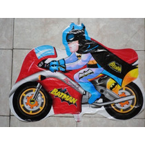 Kit C/ 12 Balões Batman Moto R$ 39,90