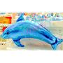 Kit 5 Und Balão Golfinho Azul- Fundo Do Mar - Metalizado