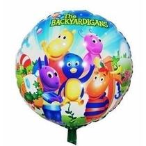 Balão Metalizado Backyardigans Kit Com 10 Baloes