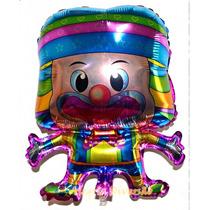 Balão Metalizado Palhaço (circo)