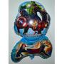 Balão Metalizado Vingadores C/ 30 Balões Decoração Festa