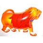 08 Balão Metalizado Animais, Safari, Floresta,onça,leão