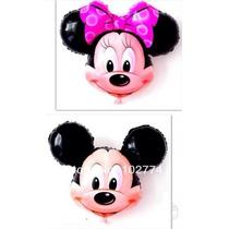 Balão Mickey/ Minie Gigante 60 Cm Kit C/10 Unidades