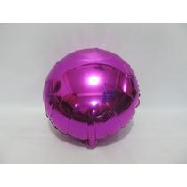 Balão Metalizado - 10 Unidades Balão Roxo 32 Diâmetro Cm