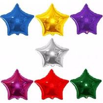 Balão Metalizado Estrela 22cm - Kit C/ 35 Balões